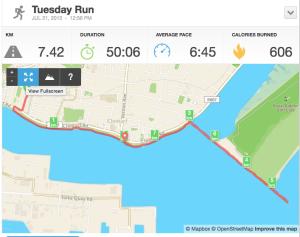 Fabulous run to Bull Island